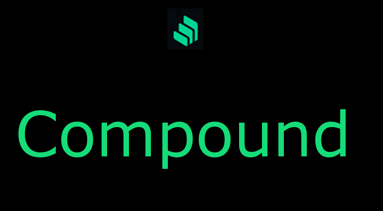 Logo verde di Compound